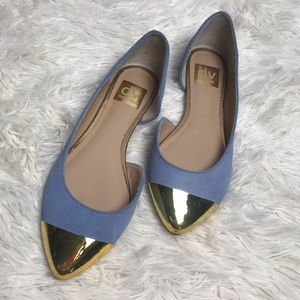 dolce vita periwinkle pointed flats